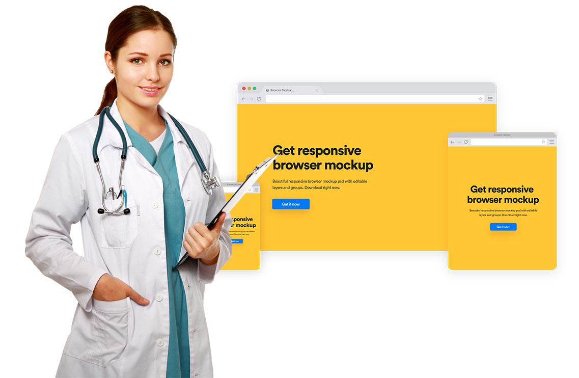pagina web profesionales medicina